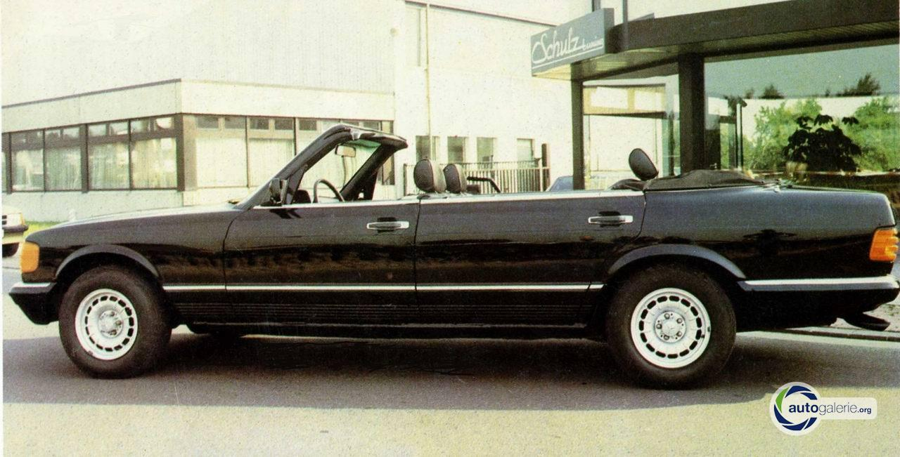 W126 Convertible Schulz